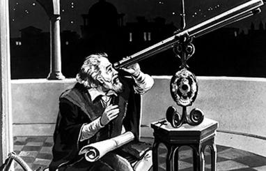 galileo-galilei-mirando-telescopio