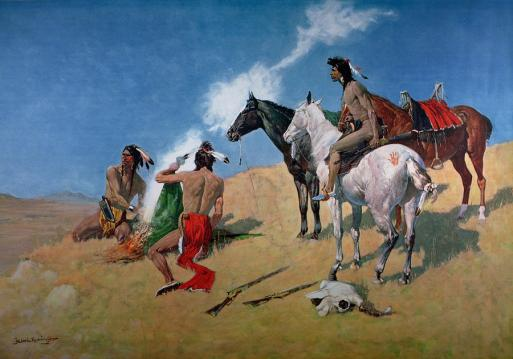 smoke-signals-frederic-remington